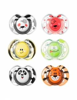 CHUPETES FUN STYLE 0-6 M PACK DE 2 TOMMEE TIPPEE