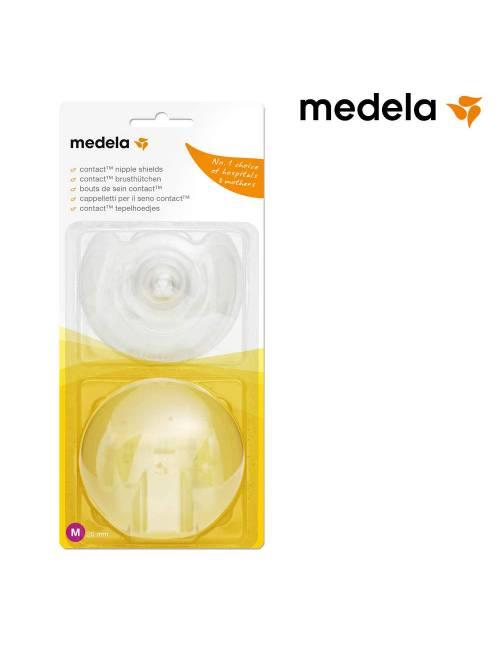 Pezonera Contact Con Estuche Talla M (20mm) Medela