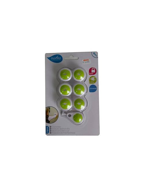Protector Enchufes Pack De 6 Nuvita
