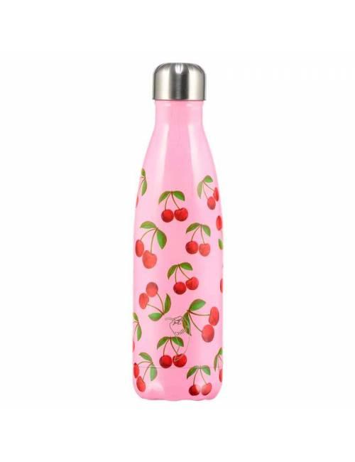 Botella Termo Chilly Cereza Rosa 500ml Regalo Original