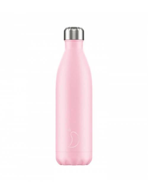 Botella Termo Chilly Rosa Pastel 750 ml Regalo Original