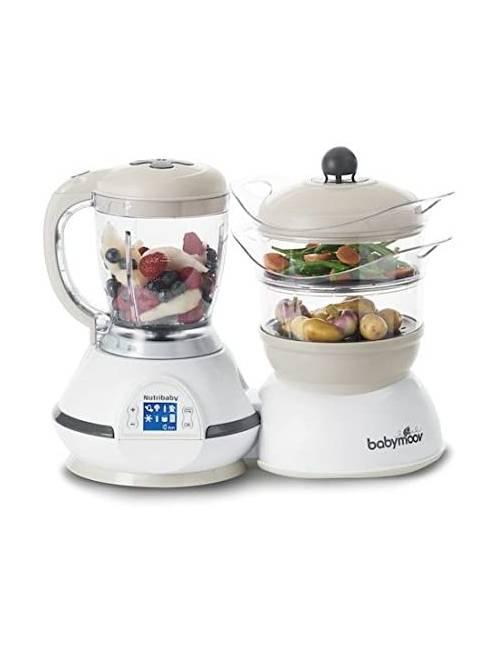 Robot De Cocina Nutribaby Classic Cream Babymoov