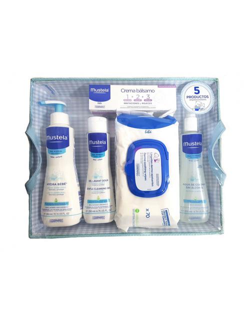 Canastilla Bandeja Productos Mustela Azul