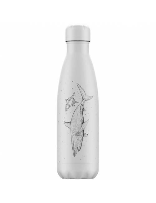 Botella Termo Chilly Sea Life Blanco 500 ml Regalo Original
