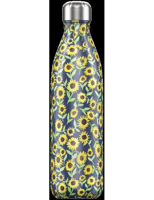 Botella Termo Chilly Girasoles 750 ml Regalo Original