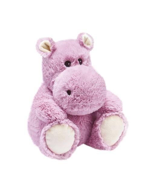 Peluche Warmies Hipopotamo Rosa Anti-Colico Semillas