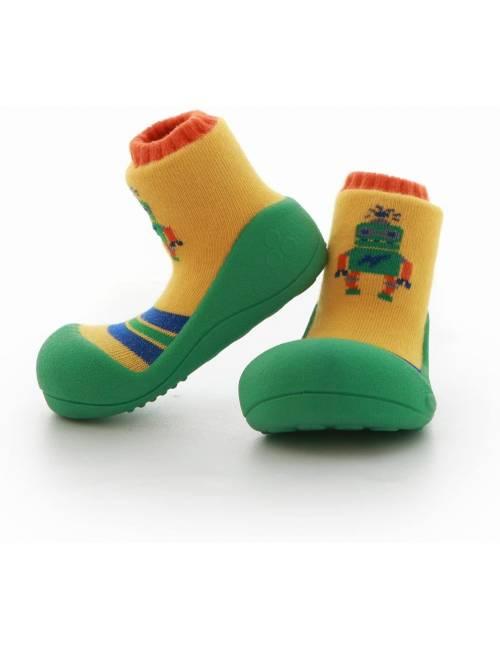 Zapatos Attipas Robot Verde 22.5 Calzado Primeros Pasos