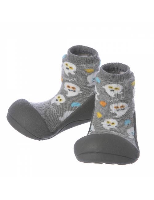 Zapatos Attipas Halloween Gris 21.5 Calzado Primeros Pasos Halloween Gray