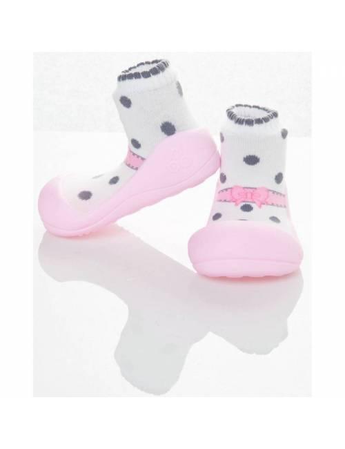 Zapatos Attipas Ballet Rosa 19 Calzado Primeros Pasos Cutie Gray