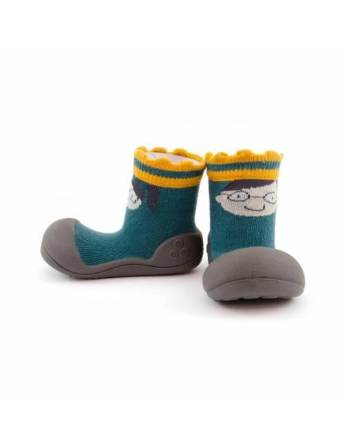 Zapatos Attipas King & Queen Verde Calzado Primeros Pasos King & Queen Green
