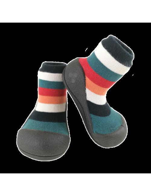 Zapatos Attipas Rainbow Negro Calzado Primeros Pasos Rainbow Black