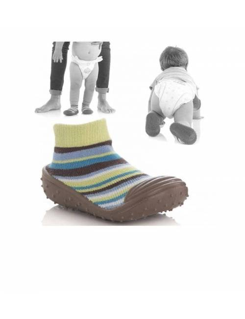 Calcetines Antideslizantes Talla L (12-18 Meses) Soki's Jane