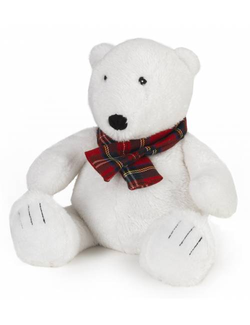 Peluche Mini Warmies Oso Polar Anti-Colico Semillas