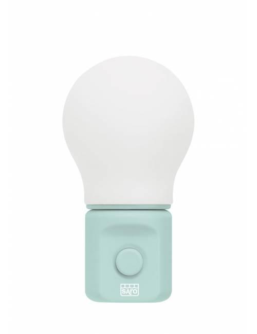 Luz De Compañia Soft Light Verde Saro Ref. 4212