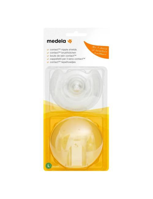 Pezonera Contact Con Estuche Talla L (24mm) Medela