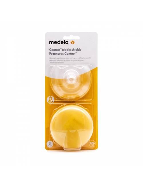 Pezonera Contact Con Estuche Talla S (16mm) Medela